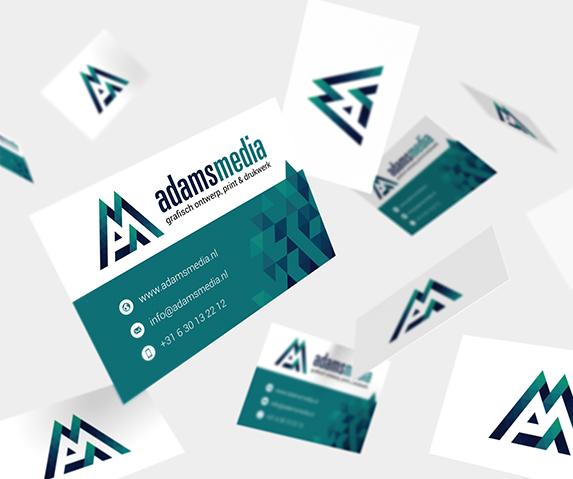 Adams Media visitekaartjes 2